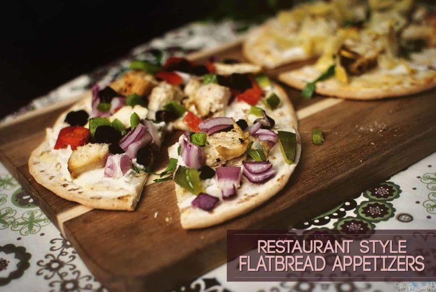 Restaurant Style Flatbread Apps | Kita Roberts Girl Carnivore.com
