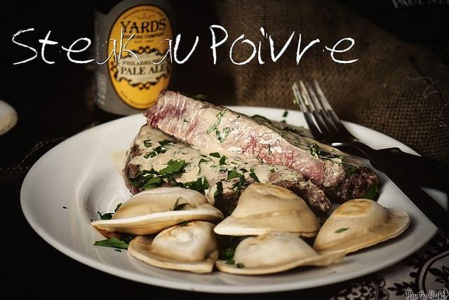 Steak au Poivre via GirlCarnivore.com