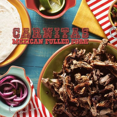 Carnitas Mexican Pulled Pork via girlcarnivore.com