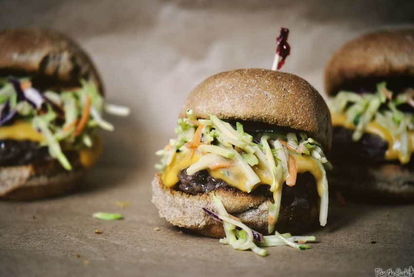Broccoli Rarebit Burgers | Kita Roberts GirlCarnivore.com