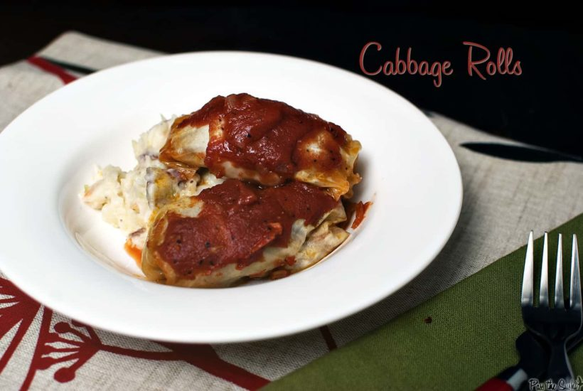 Cabbage Rolls | Kita Roberts GirlCarnivore.com
