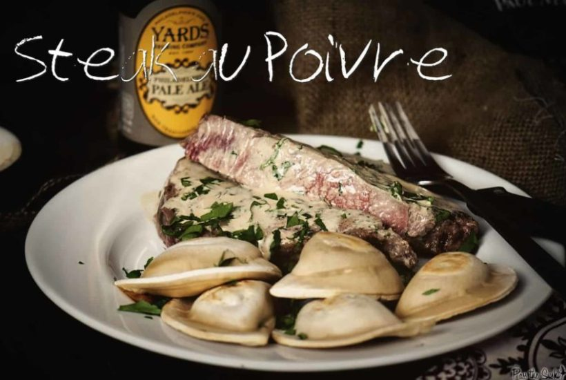 Steak au Poivre | Kita Roberts GirlCarnivore.com