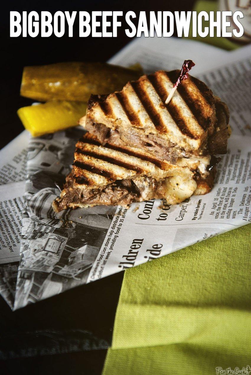 Big Boy Beef Sandwich | Kita Roberts GirlCarnivore.com