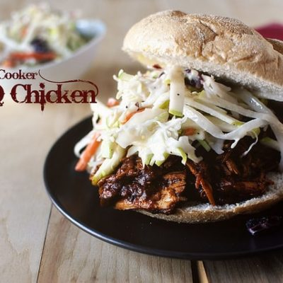 Slow Cooker Barbecue Pulled Chicken from GirlCarnivore