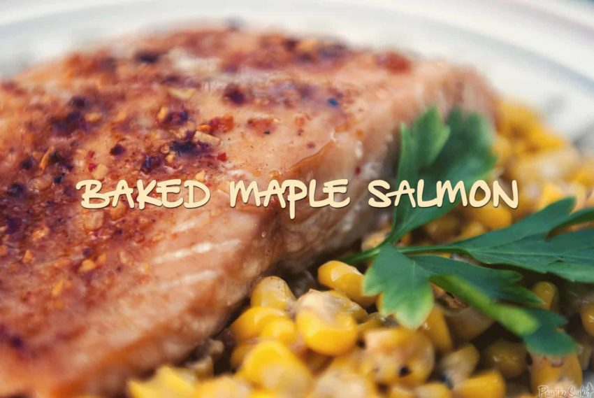 Baked Maple Salmon | Kita Roberts GirlCarnivore