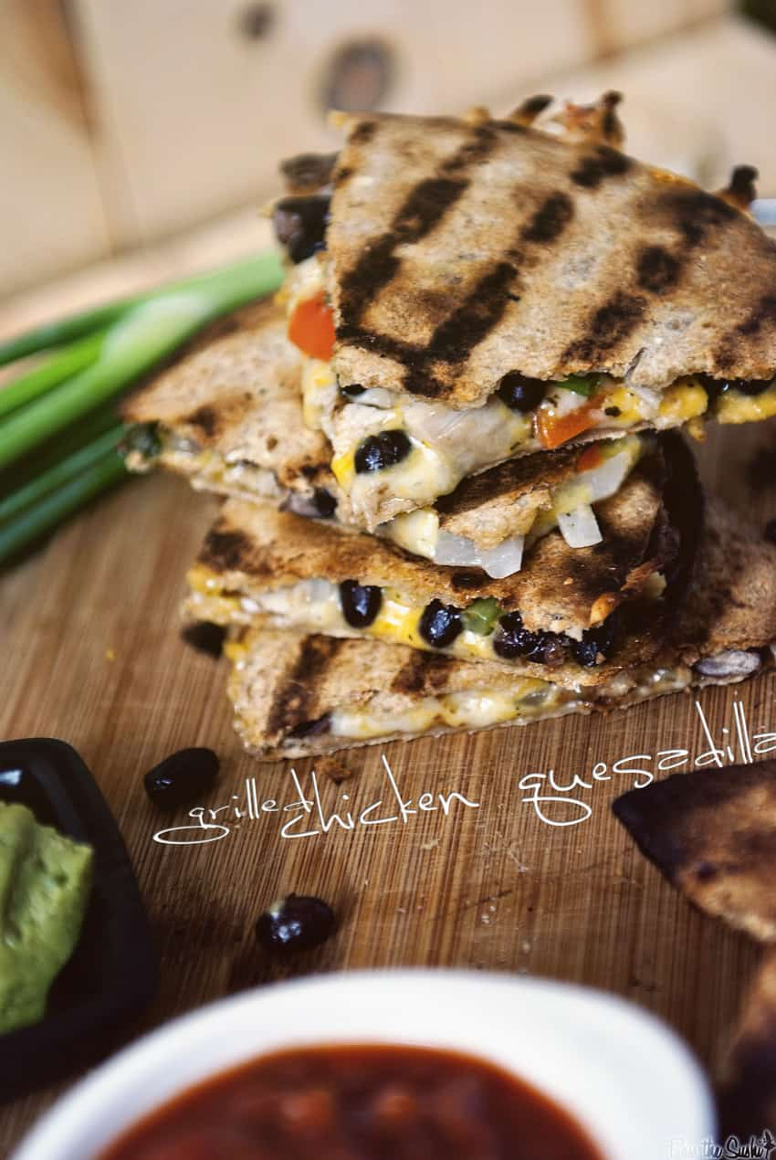 Grilled Chicken Quesadillas | Kita Roberts GirlCarnivore