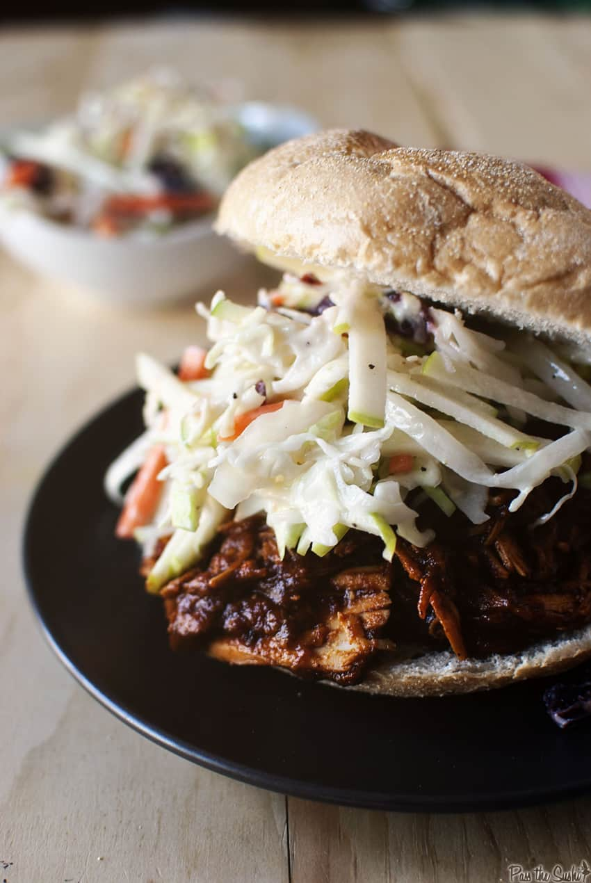 Slow Cooker BBQ Pulled Chicken | Kita Roberts GirlCarnivore