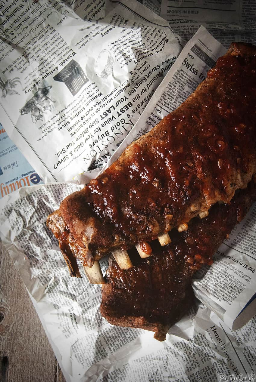 Smoked BBQ St Louis Ribs | Kita Roberts Girl Carnivore