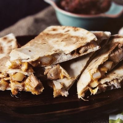 Fajita Quesadillas from GirlCarnivore.com