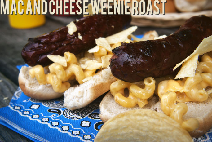 Mac and Cheese Weenie Roast | Kita Roberts GirlCarnivore.com
