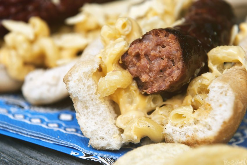 Mac and Cheese Weenie Roast | Kita Roberts GirlCarnivore.com