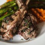 Grilled Lamb Chops with Lavender Salt | Kita Roberts GirlCarnivore.com