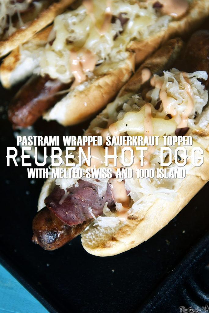 Reuben Hot Dogs | Kita Roberts GirlCarnivore.com