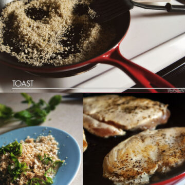 Skillet Chicken Parmesan | Kita Roberts GirlCarnivore.com