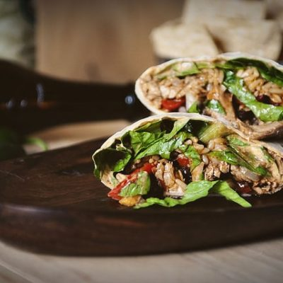 Down and Dirty Weeknight Turkey Burritos