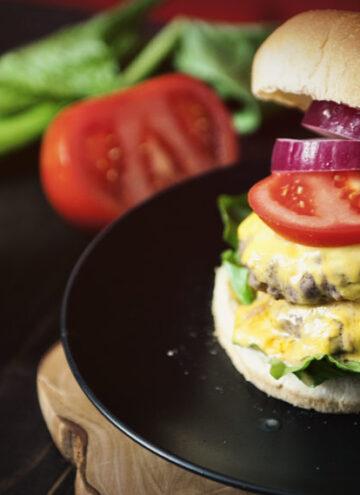 Garlic Chipotle Double Down Burger   Kita Roberts GirlCarnivore.com
