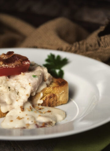 Classic Hot Brown - Turkey Sandwich | Kita Roberts GirlCarnivore.com