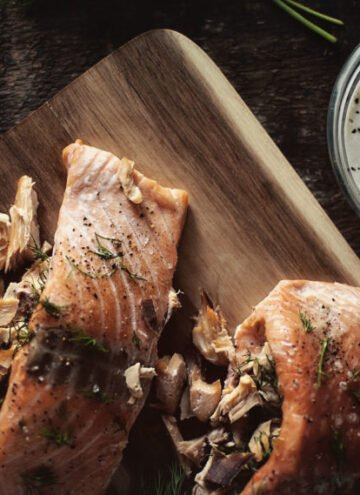 Double-Smoked Stuffed Salmon | Kita Roberts GirlCarnivore.com