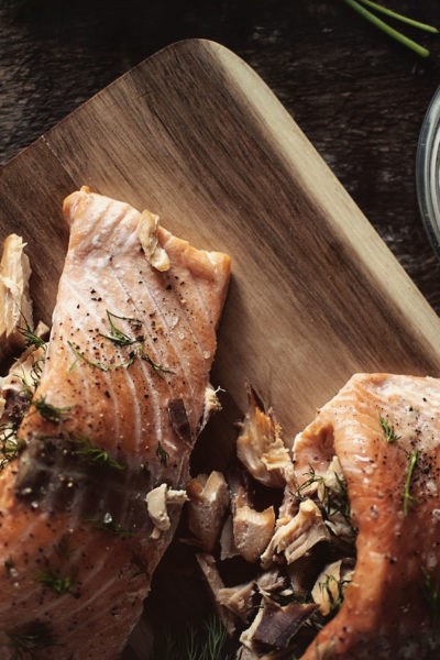 Double-Smoked Stuffed Salmon | Kita Roberts GirlCarnivore.com