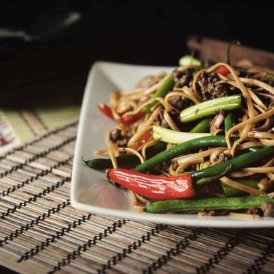 Spicy Szechuan Beef Noodles