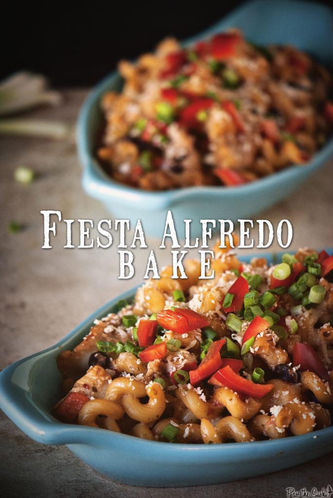 Fiesta Alfredo Mac and Cheese | Kita Roberts GirlCarnivore.com
