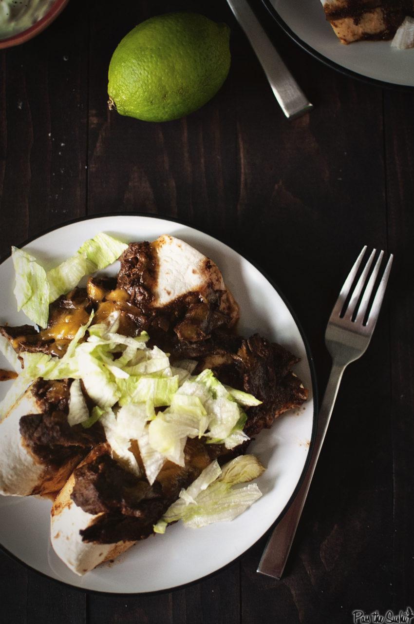 Make Ahead Beef Enchiladas | Kita Roberts GirlCarnivore