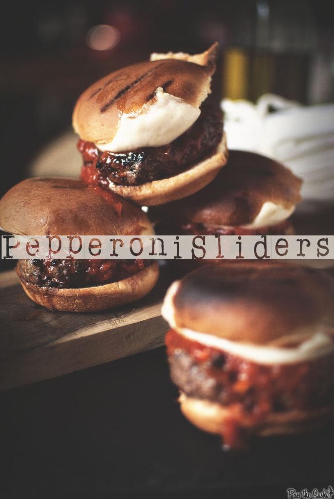 Pepperoni Sliders | Kita Roberts GirlCarnivore.com