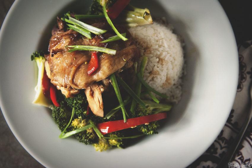 Slow Cooker Chicken Teriyaki | Kita Roberts GirlCarnivore.com
