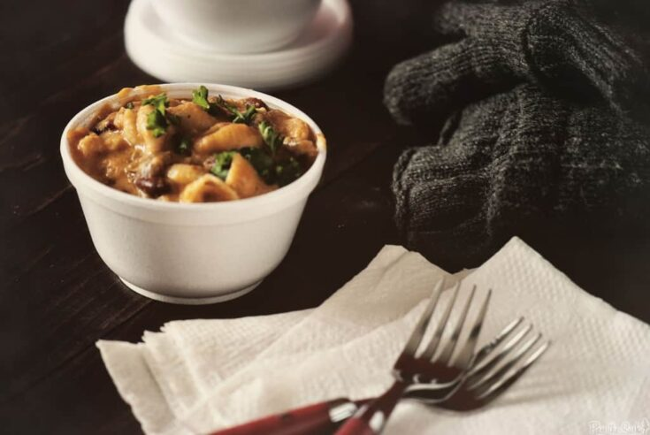Slow Cooker Barbecue Mac and Cheese