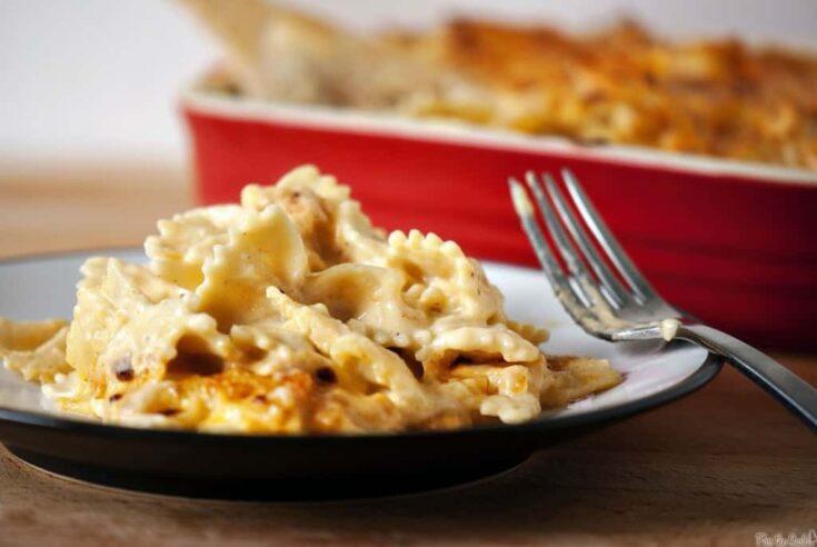 Lightened Up Three-Cheese Macaroni