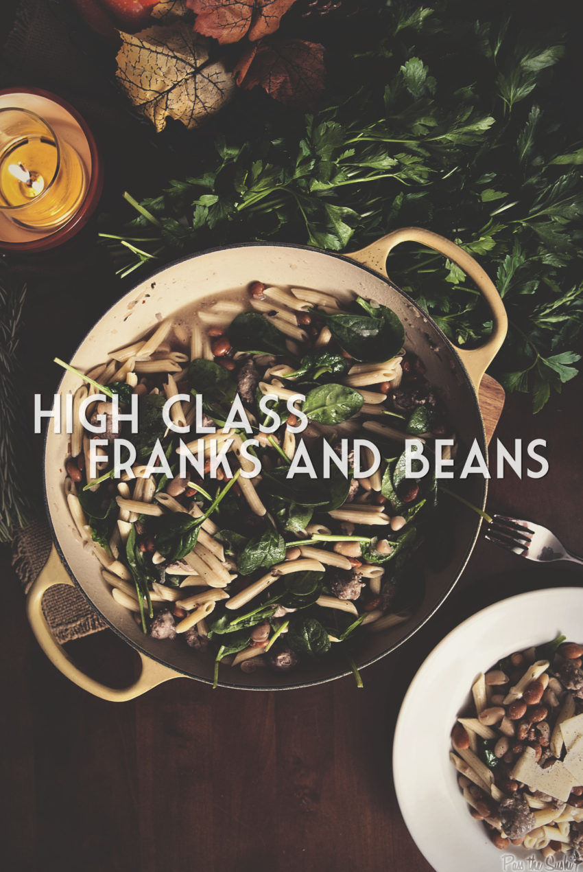 High Class Franks and Beans | Kita Roberts GirlCarnivore.com