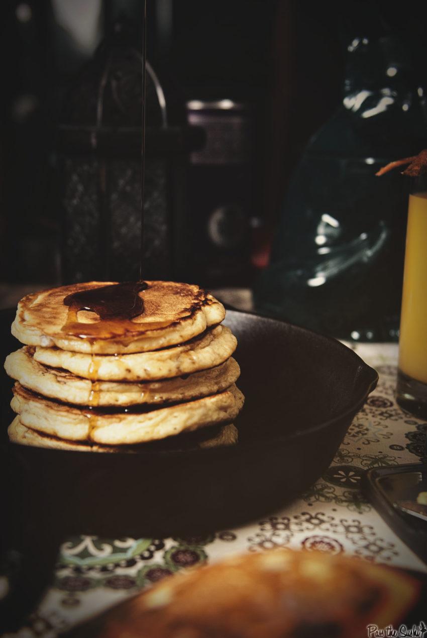 Maple Bacon Pancakes | Kita Roberts GirlCarnivore.com