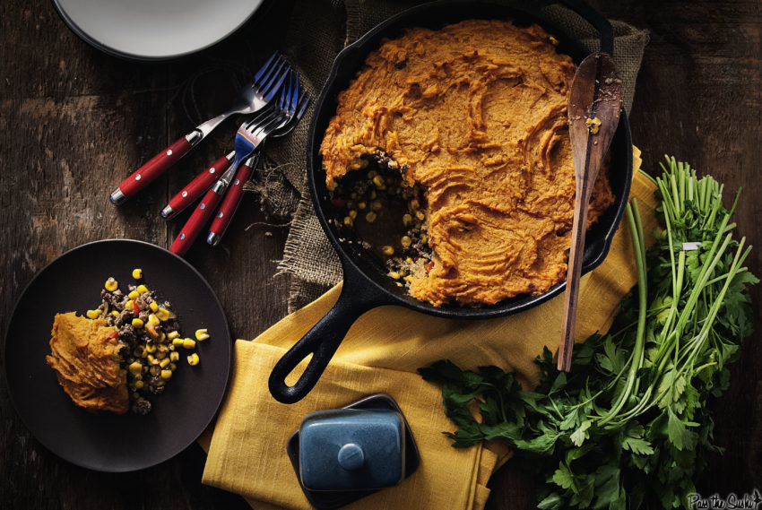 Southwest Shepherds Pie | Kita Roberts GirlCarnivore.com