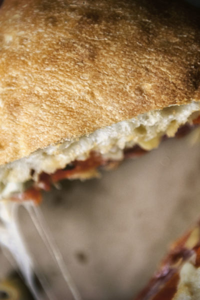 Italian Ciabatta Sandwich | Kita Roberts GirlCarnivore.com