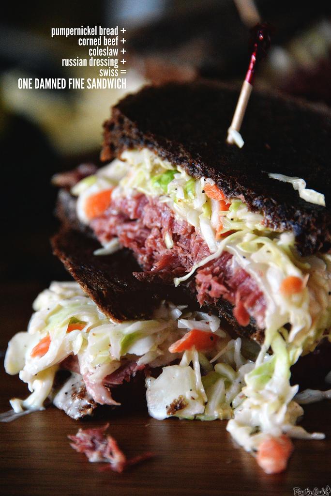 Corned Beef Sandwich | Kita Roberts GirlCarnivore.com