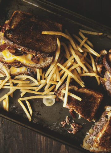 Grilled Cheese Burger | Kita Roberts GirlCarnivore.com