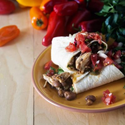 Weeknight Chipotle Chicken Burritos