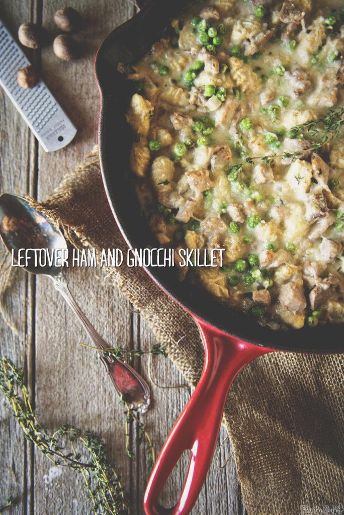 Leftover Ham and Gnocchi Skillet | Kita Roberts GirlCarnivore