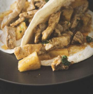 Pork and Pineapple Tacos | Kita Roberts GirlCarnivore.com