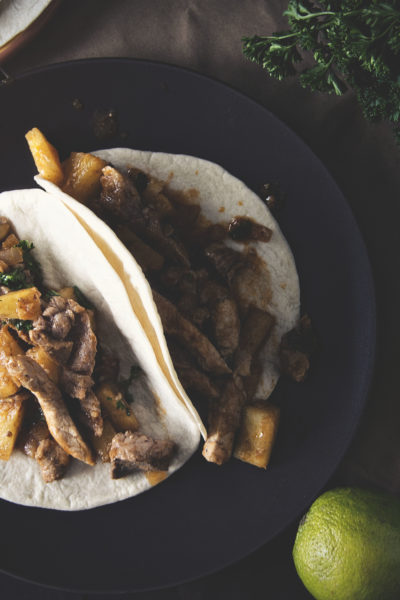Pork and Pineapple Tacos | Kita Roberts GirlCarnivore.com