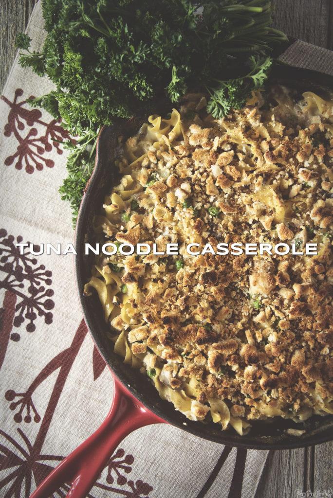 Tuna Noodle Casserole | Kita Roberts GirlCarnivore.com