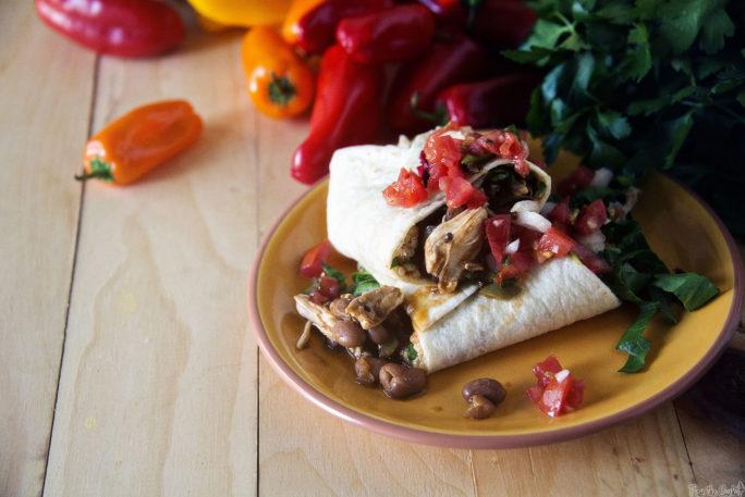 Weeknight Chipotle Chicken Burritos   Kita Roberts GirlCarnivore