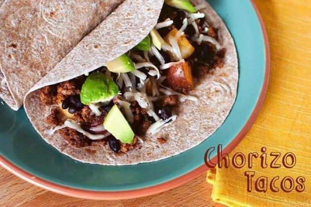 Loaded Chorizo Tacos