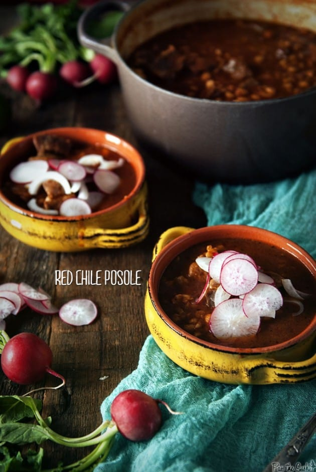 Red Chile Posole