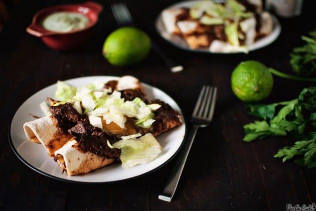 Make Ahead Beef Enchiladas