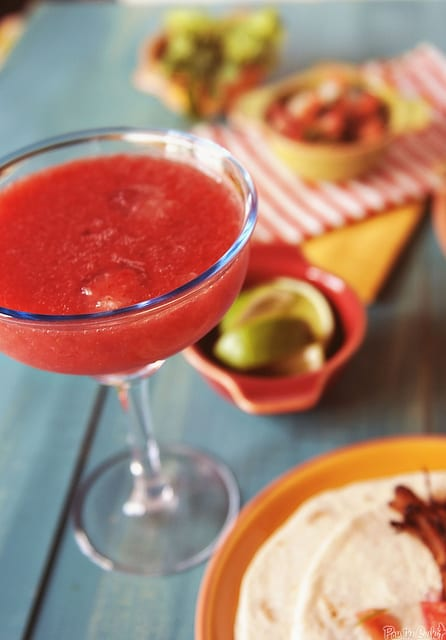 Strawberry Margaritas...for one!