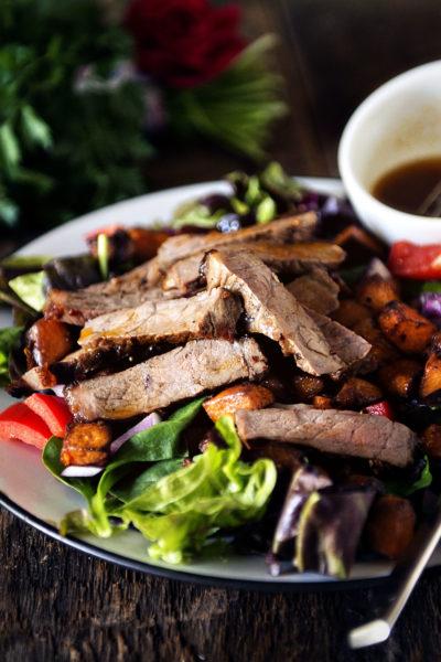 Grilled New York Strip and Sweet Potato Salad   Kita Roberts GirlCarnivore