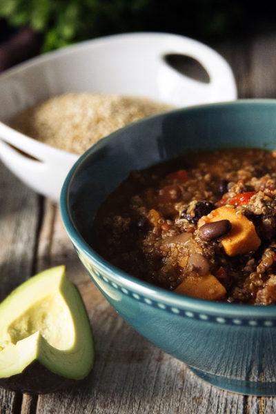 Turkey Quinoa Chili | Kita Roberts GirlCarnivore.com