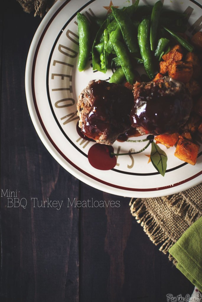 Mini BBQ Turkey Meatloaves | Kita Roberts GirlCarnivore.com
