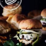 Philly Cheesesteak Burger Recipe with Roasted Garlic Aioli   Kita Roberts GirlCarnivore.com